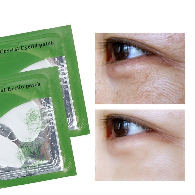 20Pcs / Set Deck Out žene Crystal očni kapak Patch protiv bora - Briga o koži - Foto 2