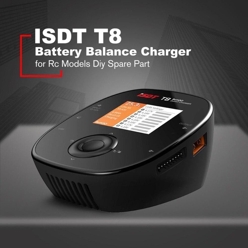 ISDT T8 Battgo 1000 Вт 30A большой мощность Lipo батарея баланс зарядное устройство умный цифровой для Rc модели Diy запасные части