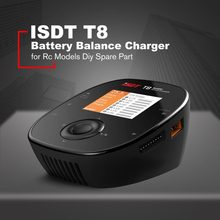 ISDT T8 Battgo 1000W 30A Big Power Lipo Battery Balance Charger Intelligent Digital Charger For Rc Models Diy Spare Part(China)