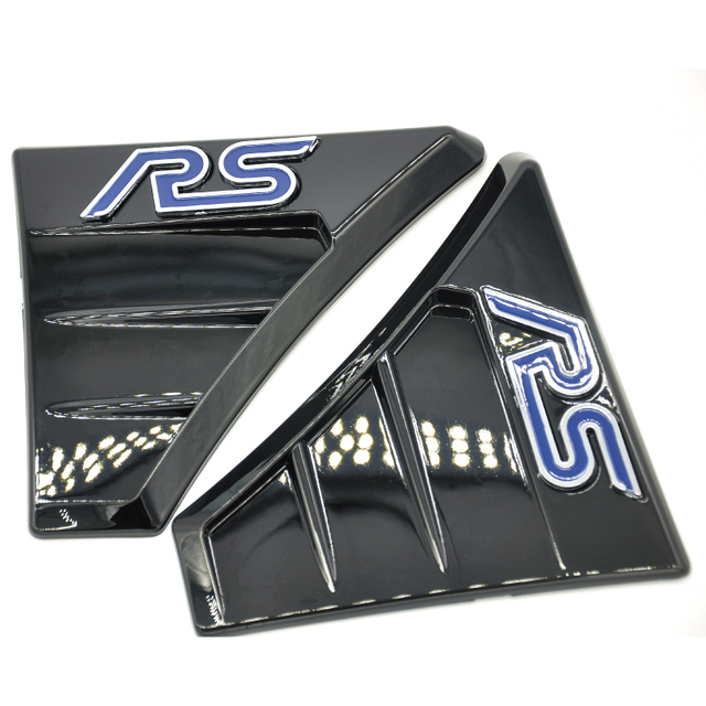Rs Style Side Fender Wing Vents For Ford Focus Mk1 Mk2 St