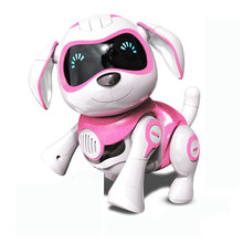 New Year Gift Puppy Dogs Remote Control Robot Dog Intelligent Dancing Walk Electronic