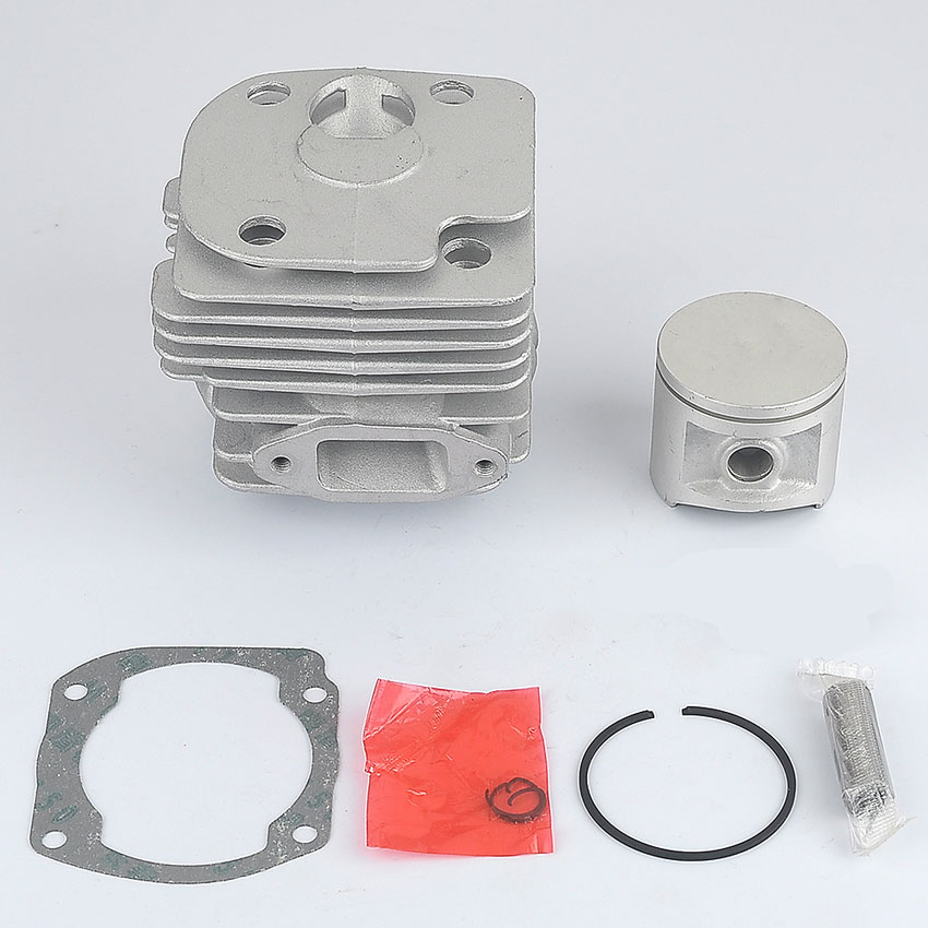 50MM New Cylinder Piston Kit Muffler Fit Husqvarna 372XP 372 371 365 362 Motoserra Petrol Gasoline Chain saw 38mm cylinder piston crank case housing bearing kit fit husqvarna 137 142 new