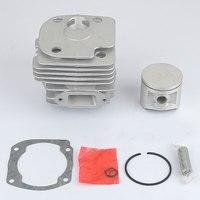 50MM New Cylinder Piston Kit Muffler Fit Husqvarna 372XP 372 371 365 362 Motoserra Petrol Gasoline Chain saw
