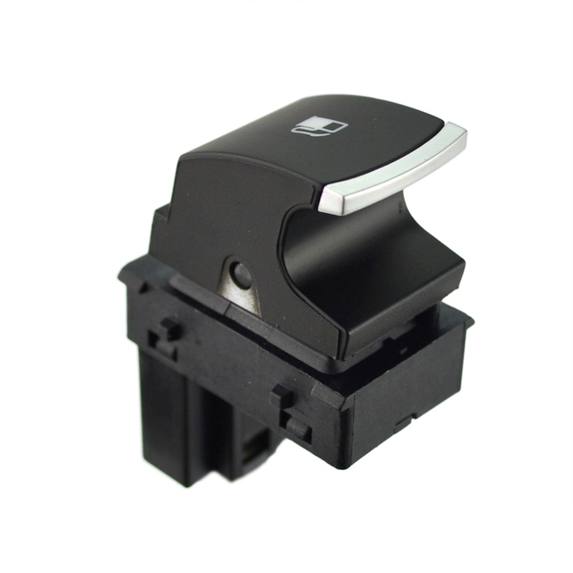 runmade Chrome Fuel Tank Gas Door Release Switch Button For VW Golf Jetta MK5 Rabbit Touran 1KD959833 1KD 959 833