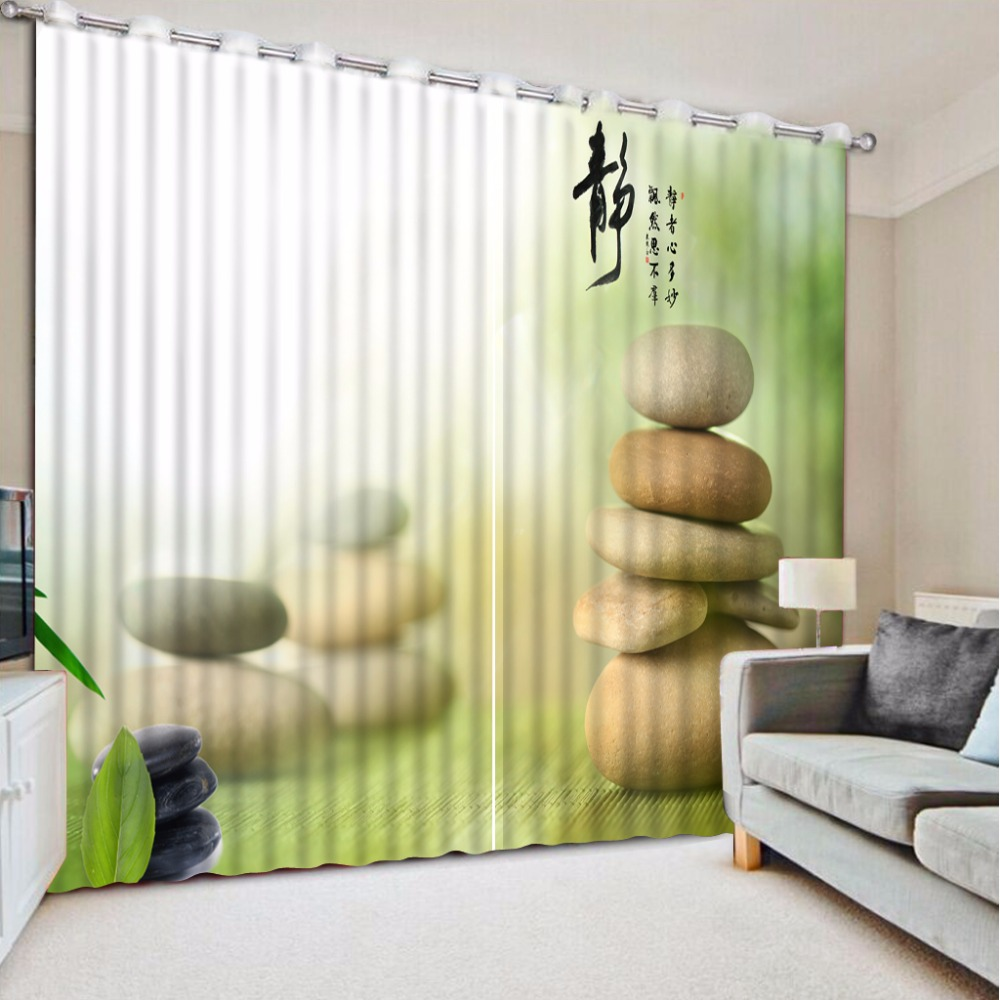 3D Curtain Fashion Customized Stone Green Curtains For Bedroom Custom Any Size 3D Curtain Blackout Living Room3D Curtain Fashion Customized Stone Green Curtains For Bedroom Custom Any Size 3D Curtain Blackout Living Room