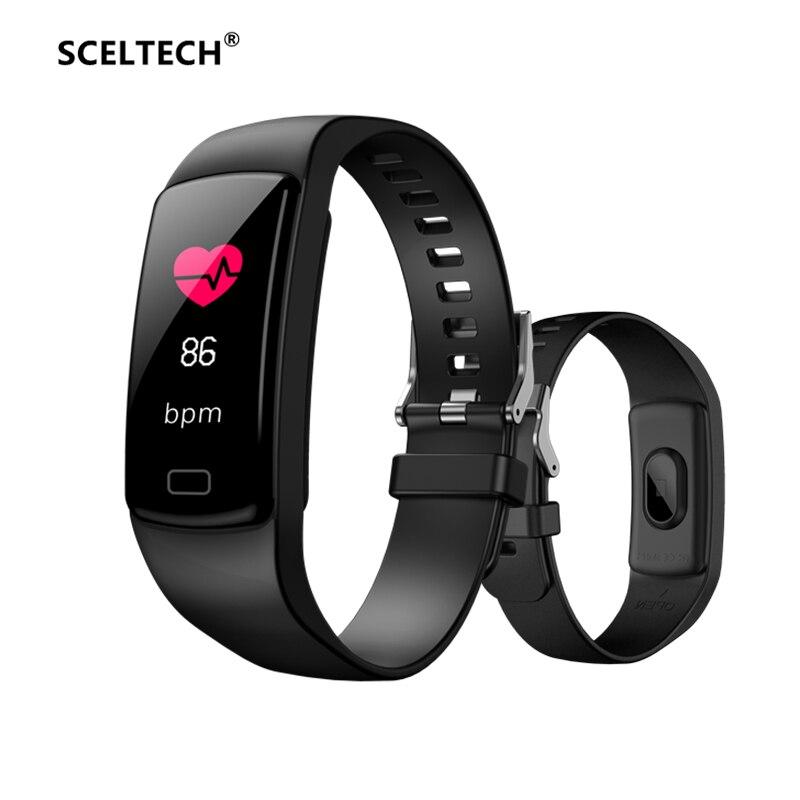 Digital Watches Men's Watches Discreet Women Wristband Waterproof Smart Watch Sports Bluetooth Smartwatch Android Ios Tracking Sleep Monitoring Black Pink Watch 2019 100% Original