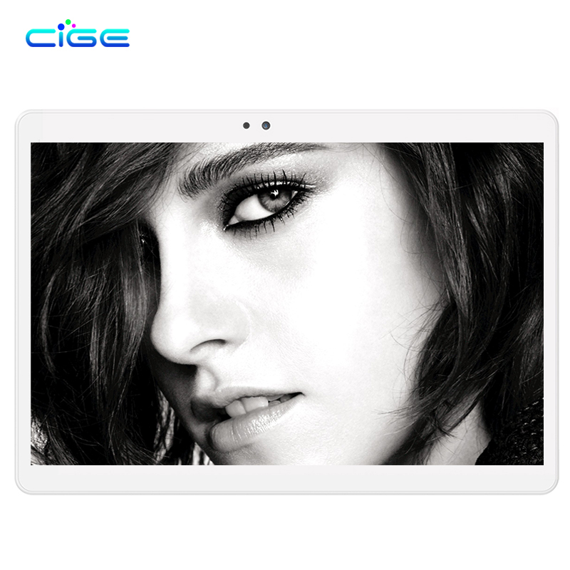 CIGE 10.1 inch Octa Core 3G 4G Tablet Android 6.0 RAM 4GB ROM 64GB 8.0MP Dual SIM Card Bluetooth GPS Tablets 10.1 inch Tablet pc
