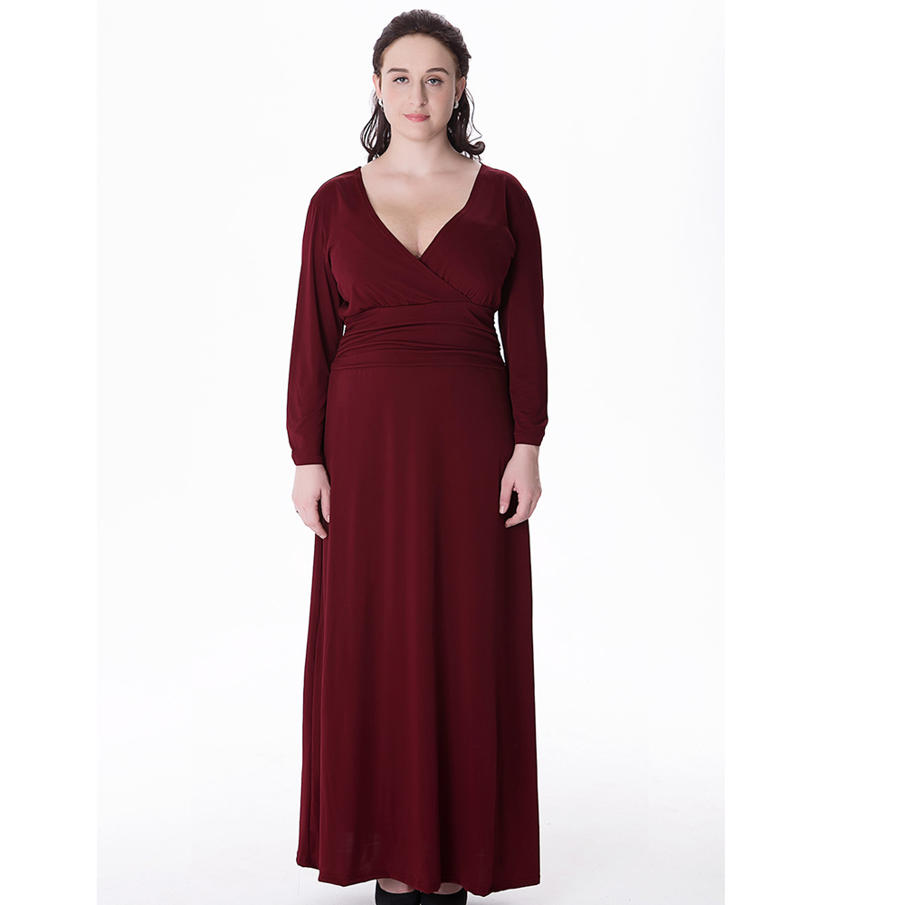 Quarter Sleeve Maxi Dresses