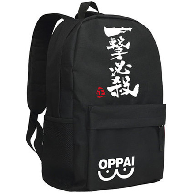 One Punch Man OPPAI Casual Backpacks (8 Design)