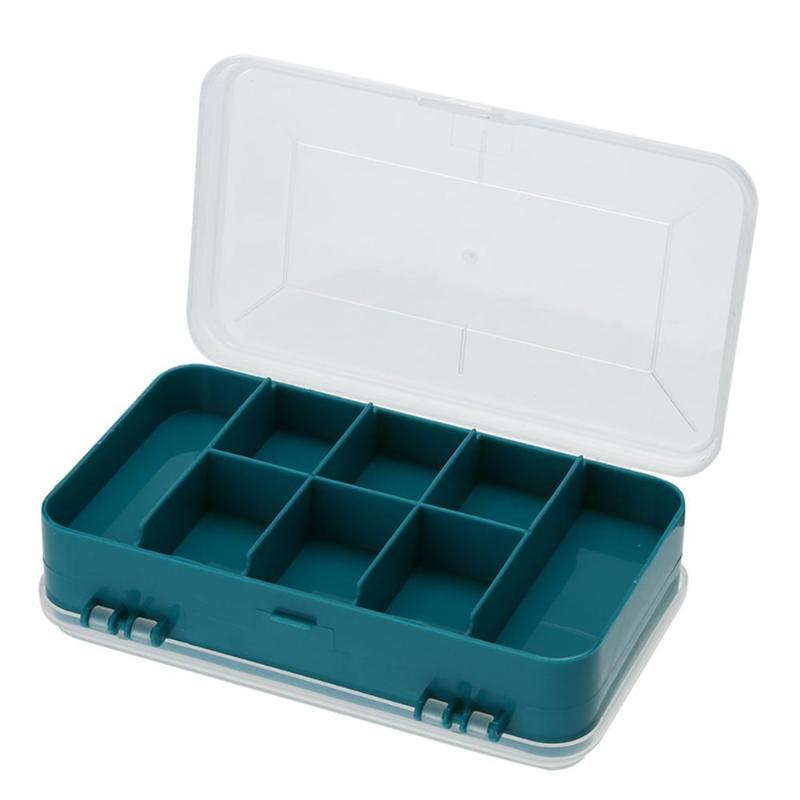 13 Grid Shockproof Waterproof Tool Box Double-Side Plastic Screw Jewelry Tool Box Multi-Function Case For Storage Herramienta
