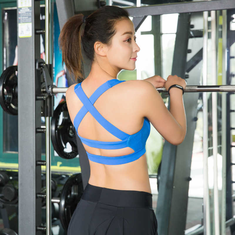 f1840985ea91e ... Push Up Sports Bra Quick Dry Fitted. RELATED PRODUCTS. Vertvie Sexy  Women Halter Yoga Bra Strappy Sport Bras Push Up Shockproof Sport Bra Vest  Tank