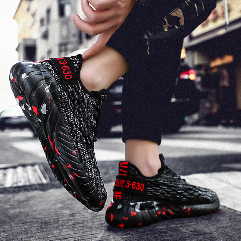 Men Running Shoes Height Increasing Shoes Soft Jogging Men 2019 Sports Men Breathable Designer Training Sneakers Plus Size 38-48