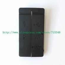 Nouveau couvercle de porte en caoutchouc USB/HDMI DC entrée/sortie vidéo pour pièce de réparation dappareil photo numérique Canon EOS 50D