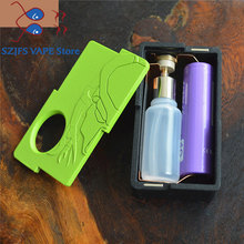Predator Squonk Box Mod e-cigarette Vape Box Mod Power By Dual Battery 18650 & 20700 Compatible With Atomzier 510 Pin vs GEN 25 newest hugsvape surge squonk kit 80w surge squonk mod with piper rda atomizer powered by single 18650 battery vs athena kit