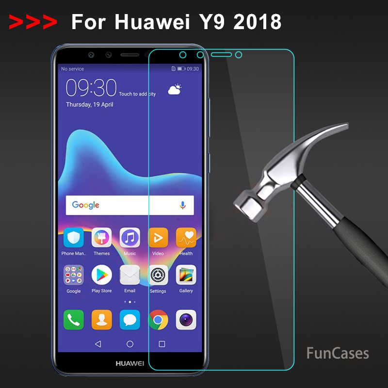 Tempered Glass Huawei Y6 Prime 2018 Screen Protector Film Huawei P20 Lite Y9 Y7 Y6 Y5 Prime 2018 Protective Glass for P Smart