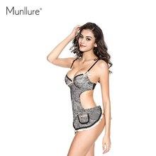 Munllure 2016 V-neck For Fashion Vintage Lace Set Sexy Luxury bra Sleepwear Hot Sale Underwear Women bra set