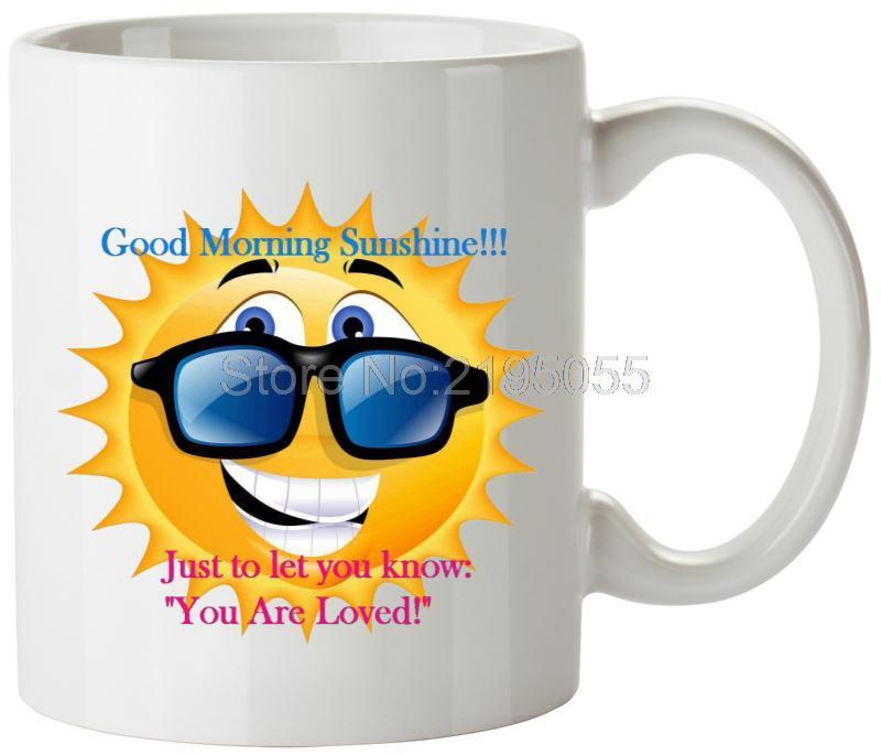 Guten Morgen Sonnenschein Nette Tassen Lustige Kaffeetasse