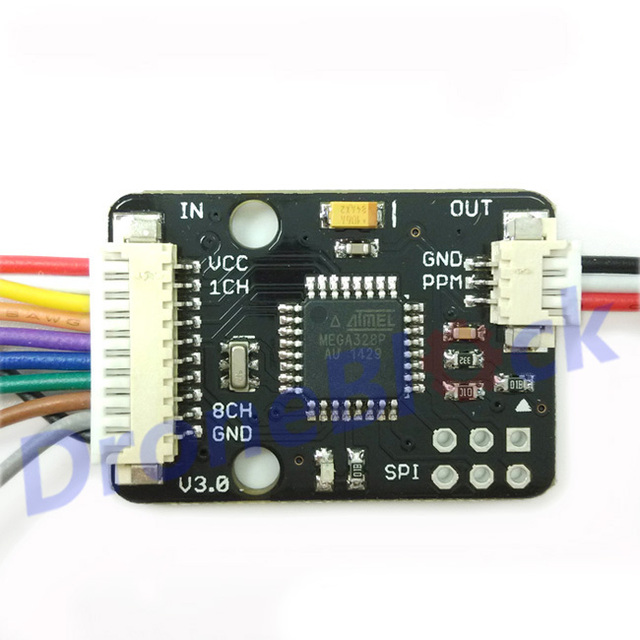 US $4.66 5% OFF|PWM to PPM Encoder V3 for Pixhawk PX4 Paparazzi NAZE32 on