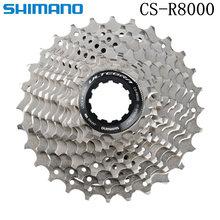 Shimano ultegra cs r8000 HG800-11 bicicleta de estrada roda livre 11 velocidade 11-25t 11-28t 11-30t 11-32t 11-34t r8000 cassete roda dentada