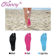 Foot Stickers Shoes Stick on Soles Sticky Pads Waterproof Hypoallergenic Adhesive Feet Pad Foot Care Feet drop ship