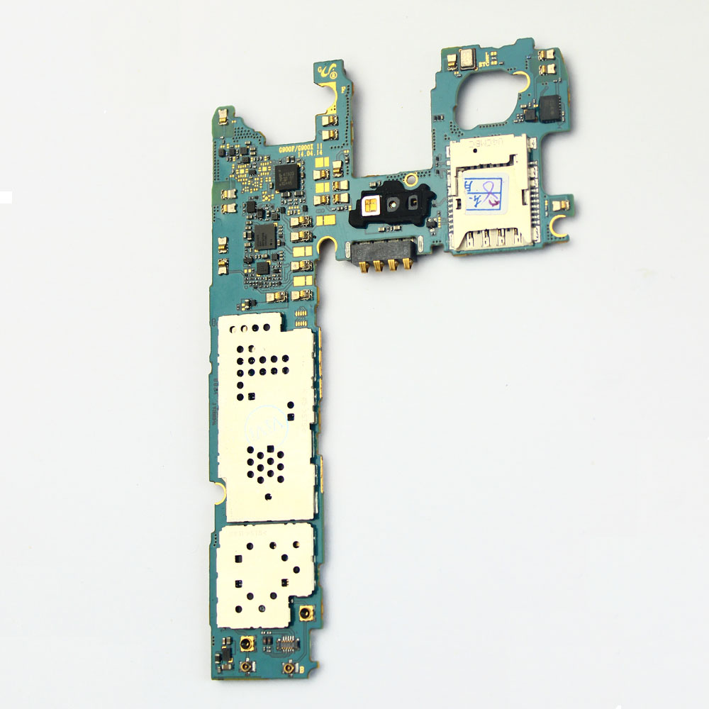 Main Motherboard Unlocked For Samsung GALAXY S5 G900f 16GB