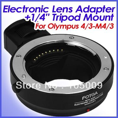 Fotga AF Lens Adapter ring with 1/4 Tripod Mount for 4/3 Lens to Micro 4/3 M4/3 camera fotga lens adapter high quality adapter ring for m42 lens to micro 4 3 mount camera for olympus panasonic dslr camera