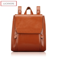Fashion Women S Backpacks Genuine Leather Women Girl Students School Bag Small Shoulder Bags Women Casual