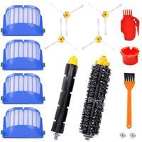 Acessórios Kit de substituição para iRobot Roomba Série 600 675 690 680 671 652 650 620 614 595 Peças de Filtros Hepa Vac Escovas Laterais
