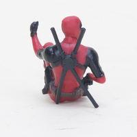 Deadpool 2 Thanos Action Figure Sitting Posture Model Mini Doll Collection Figurine Toys For Boys 7cm 4