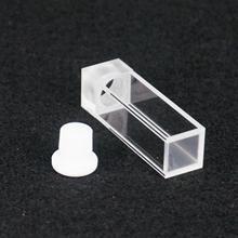 3,5 мл 10 мм Траектория JGS1 кварцевая кювета с пробкой для флуоресцентного спектрометра