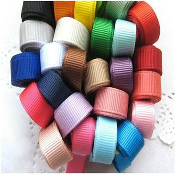 8 yards /lot 1CM Mixed  Colors Rib Belt Ribbon Set For DIY Handmade Jewelry Accessories Decoration