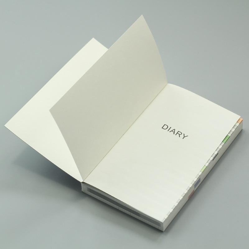 Färgrik inre bok för Hobonichi Journal Cover A5 Weekly Plan + - Block och anteckningsböcker - Foto 2