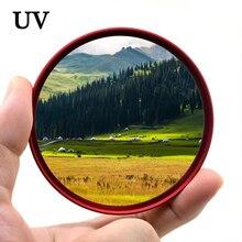 KnightX UV Filter สำหรับ Canon Sony Nikon 49 52 55 58 62 67 72 77 mm 1200d อุปกรณ์เสริม 500d 2000d การถ่ายภาพ 50d 700d d5300 สี