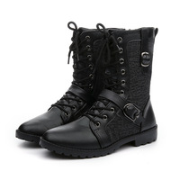 Motorcycle Boots Motorcycle Shoes Motocross Boots Moto Shoes Leather Race Motocross Motorbike Riding Boots Shoes Protective Feet