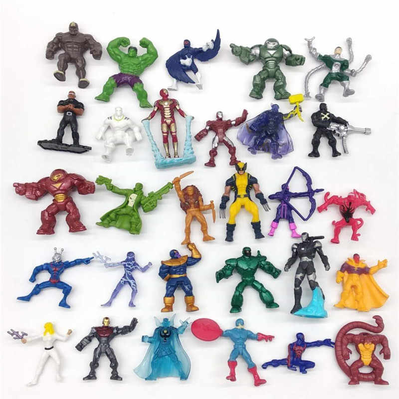 MARVELS Avengers Infinite War Spider-Man Hulk Iron Man Captain America Action Figure Toy Dolls Random Delivery
