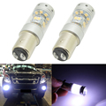 2Pcs 1157 140W Super bright canbus car led fog lamps motorcycle Headlights daytime driving bulbs turn signals led reverse lights