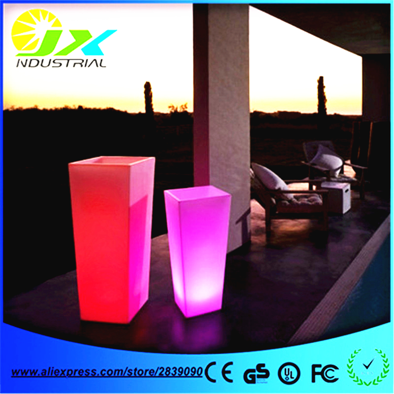 16LEDs Decoration Lights Color-Changing Waterproof Outdoor Party Christmas LED Flower Pots Light up beer buckets