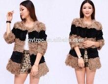 Genunie Mongolian Lamb Fur Coat for Women 2016