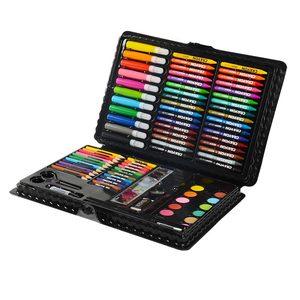 Image 3 - 109 adet Sanat Seti suluboya fırçası Kalem Sanatçı Aracı Kiti resim kalemi boyama seti Çocuklar Için Hediye Kutusu Çizim Oyuncaklar Sanat Malzemeleri