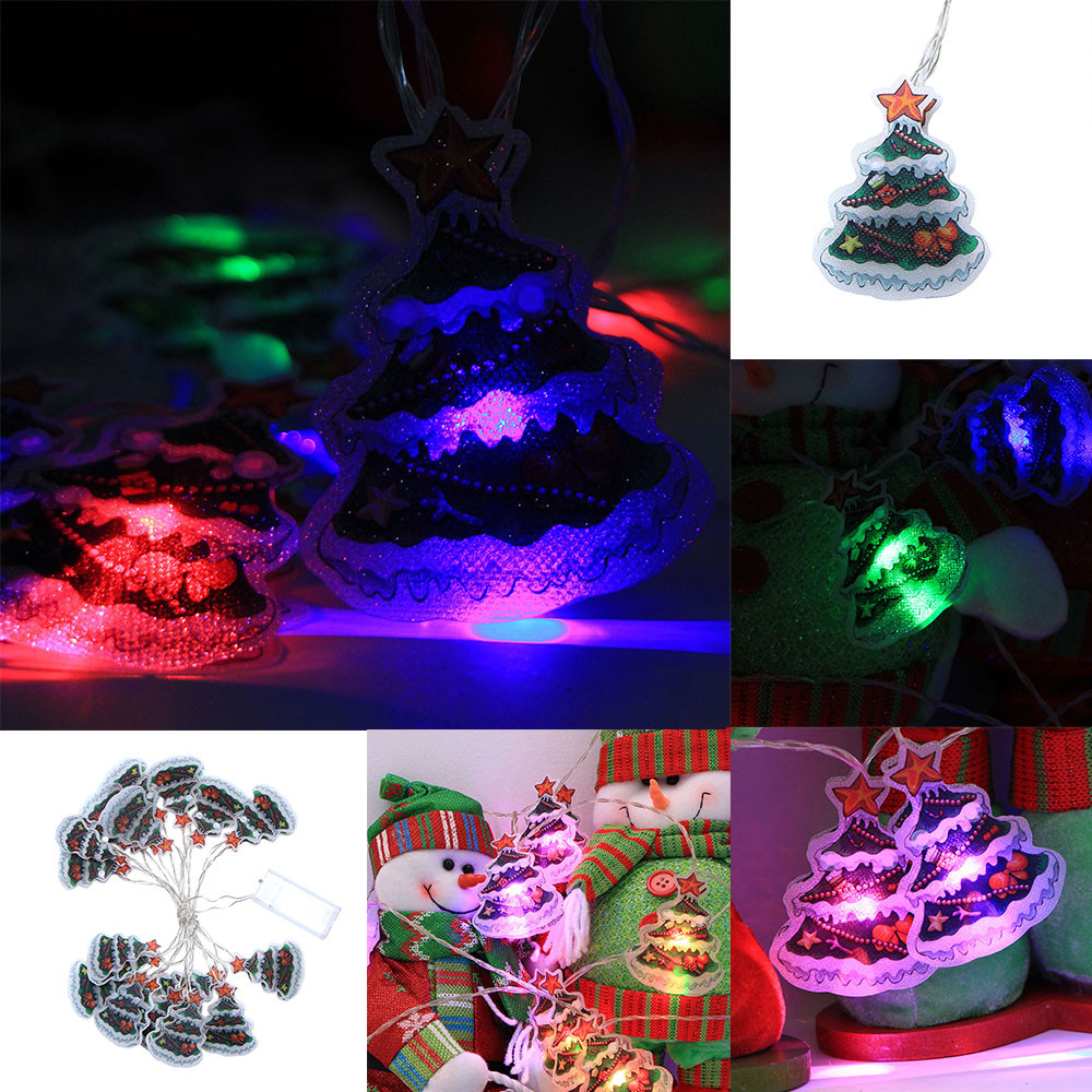 Christmas Tree Indoor Lights: Christmas Tree 3.0m 16 LED Lights Party Home Decor Outdoor