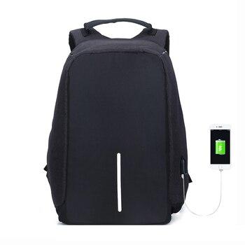 a3e3ec00777e Anti theft рюкзак Бобби Travel mochila рюкзак большой Ёмкость USB Для  мужчин ноутбук рюкзак Колледж школьные сумки mochila анти roubo