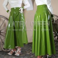 Взрослый очаровательный латекса юбка костюм Юбки