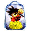New Dragon Ball Z School Bags Cartoon Prints Boys Favorite Students Book Bag Kindergarten Shoulder Bag Kids Bag Mochila