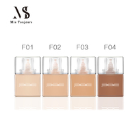 Professional 80% Water Based Foundation For Airbrush Makeup HD Bare Face Paint Cosmetics Suitable For All Standard Airbrush