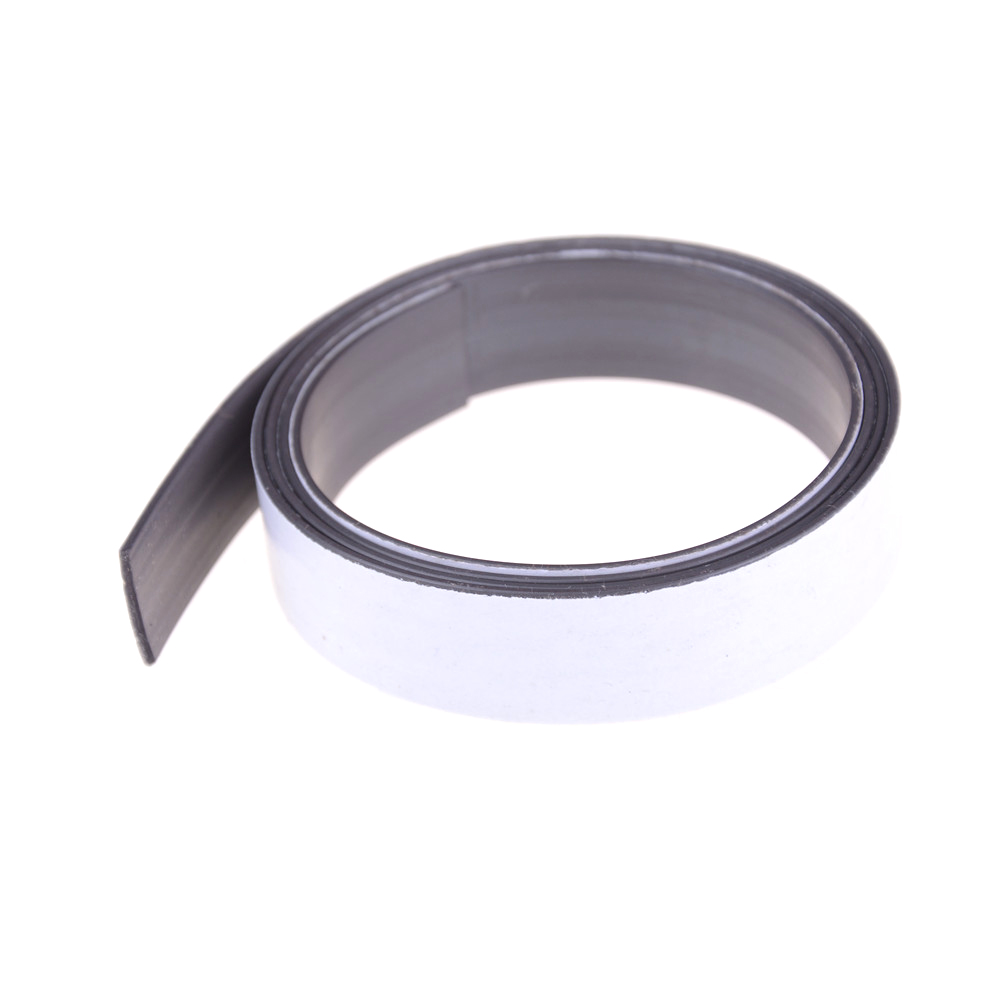 1M*10Mm*1.5Mm Flexible Magnet Diy Craft Tape Rubber Self Adhesive Magnetic S pe For Shop Office Home School File Magnet S p