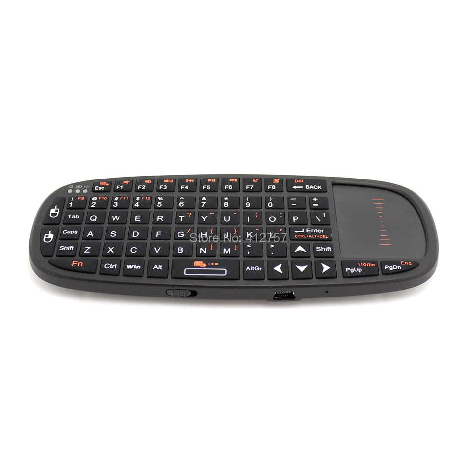 56eaf64109f ... Rii i10 2.4GHz Mini Wireless Keyboard Air Mouse with TouchPad for  Andorid TV Box/