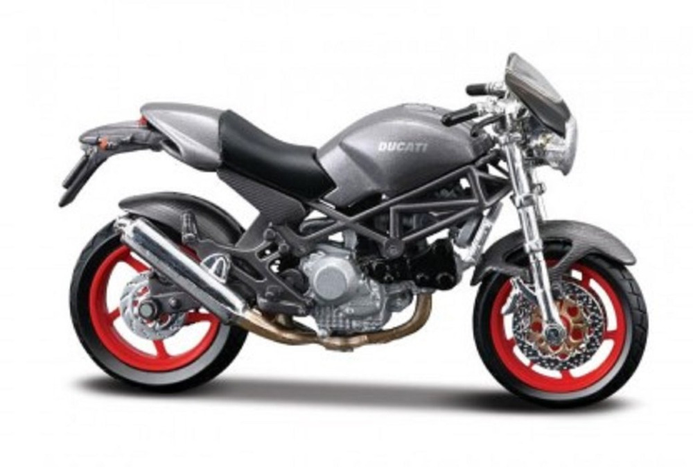 MAISTO 1:18 Ducati Monster S4 MOTORCYCLE BIKE DIECAST MODEL TOY NEW IN BOX Free Shipping