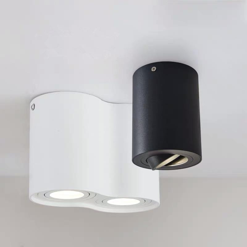 Современная потолочная Светодиодная лампа для гостиной, кухонный светильник с белым/черным корпусом, подвесной светильник для коридора, ос...,