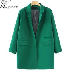 Wmwmnu new 2017 medium long slim ol women s suit female blazer formal solid color suit.jpg 250x250