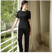 2f494a2708e Latest Fashion Beauty Salon SPA Uniform Set Korean Medical Surgery Hospital Work  Clothing High Quality Black
